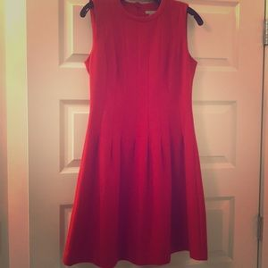 H&M red dress. Perfect for the holidays.